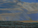 drawing titled Sky Over Steens Mountain Two